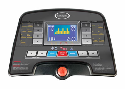 lifespan tr 2000 treadmill console
