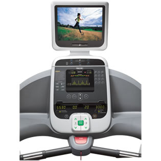 Precor 966i Experience Treadmill Offers Incline and Decline