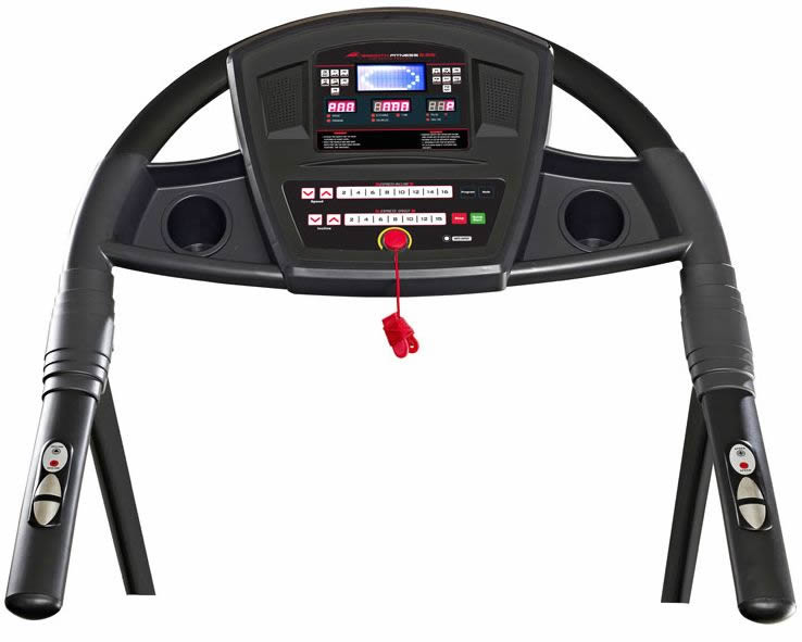 Smooth 5.65 Treadmill console - Review by RunReviews