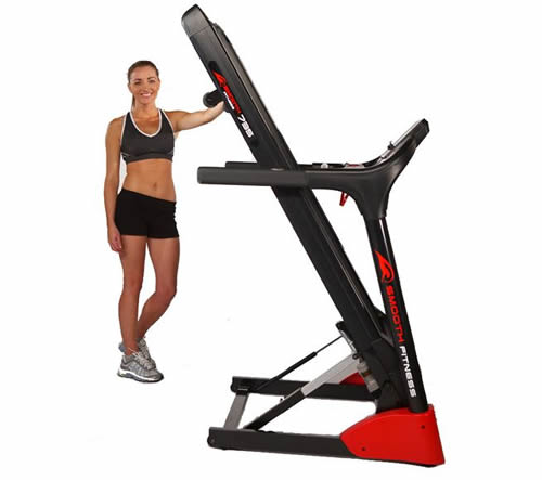 Smooth 7.35 Treadmill Folded - Review by RunReviews