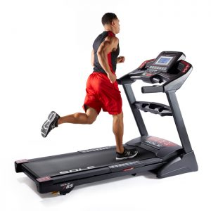 Sole F65 Treadmill With Male Runner