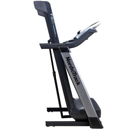 How To Fold A Nordictrack C2150 Treadmill