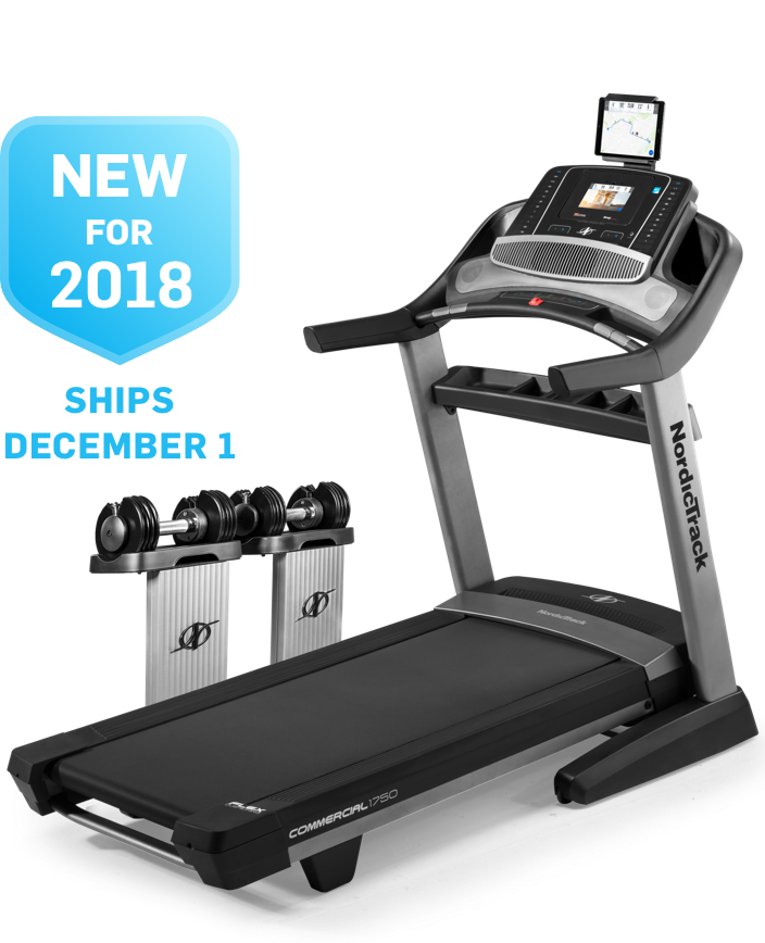 NordicTrack Commercial 1750 - New 2018 Model