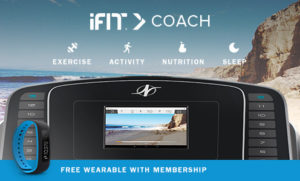 NordicTrack Commercial 1750 iFit Coach Display