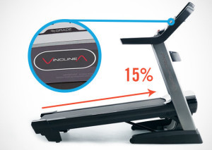 ProForm Pro 5000 Incline and Decline Capability