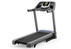 Best Compact Treadmill - Horizon T101 Small Footprint