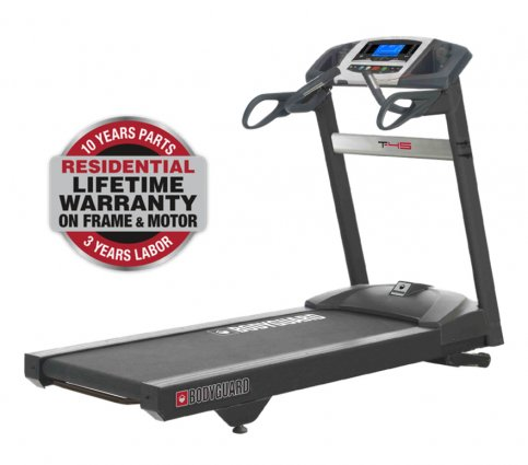 Bodyguard T-45 Treadmill with Turbo Training