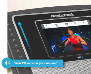 "NordicTrack T 8.5 S Console With iFit Coach and 10"" Smart HD Touchscreen"