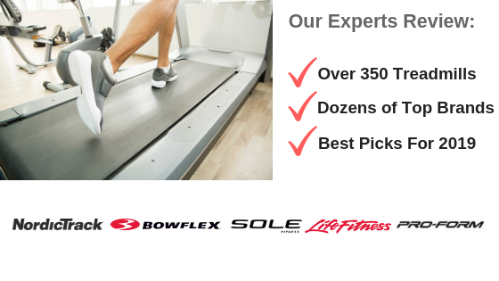 Treadmill Reviews 2019 - Top Brand Logos