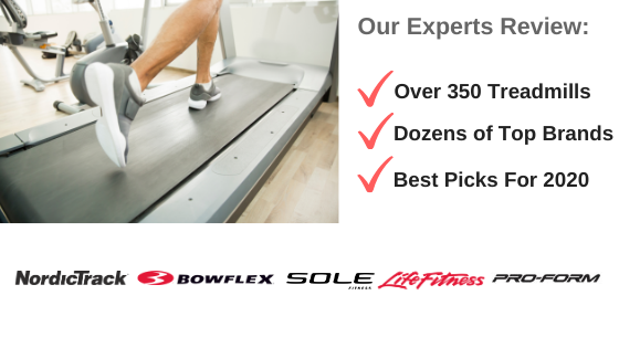 Treadmill Reviews 2020 - Top Brand Logos
